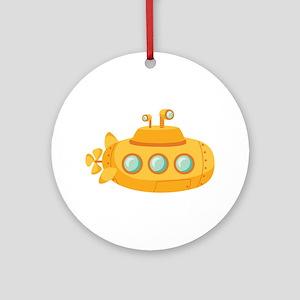 Submarine Ornament (Round)
