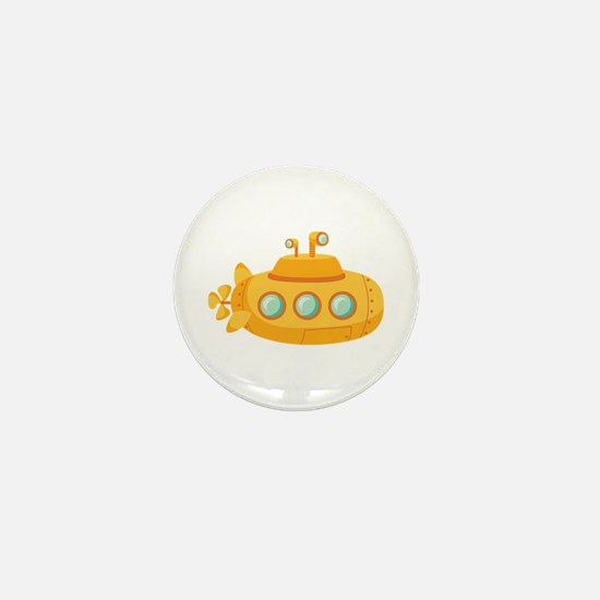 Submarine Mini Button