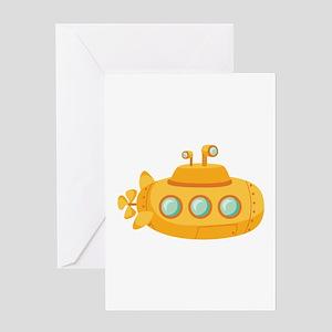 Submarine Greeting Cards