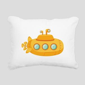Submarine Rectangular Canvas Pillow