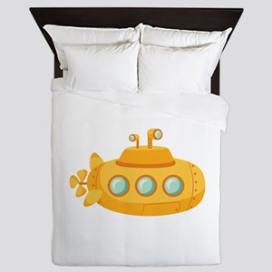 Submarine Queen Duvet