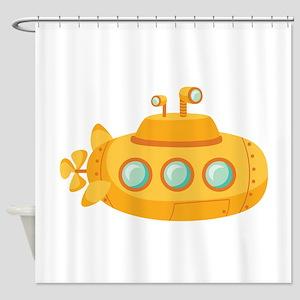 Submarine Shower Curtain