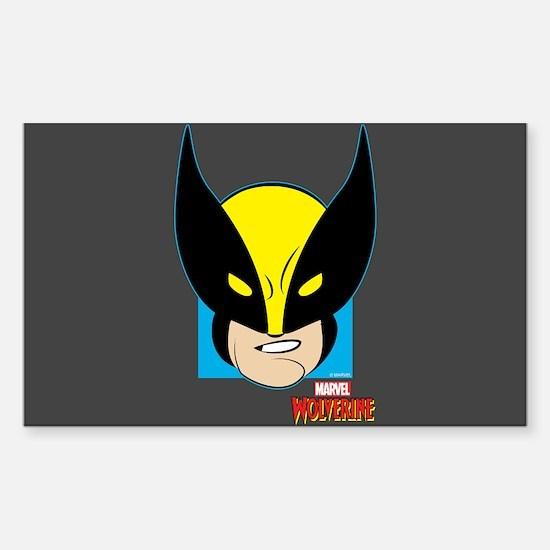 Wolverine Sticker (Rectangle)