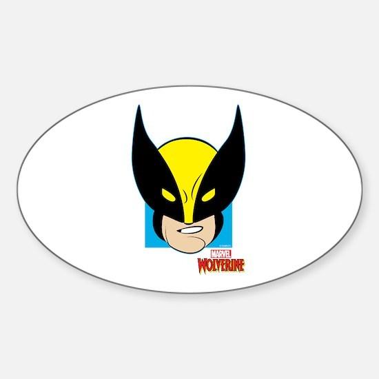 Wolverine Sticker (Oval)