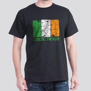 irish flag craic head st. patrick's day T-Shirt