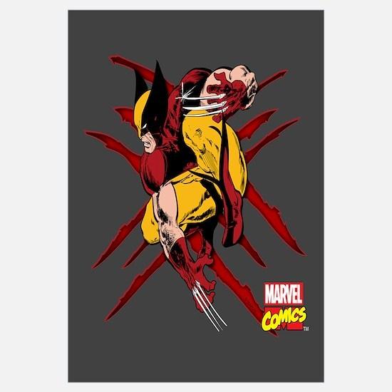 Wolverine Scratches Wall Art