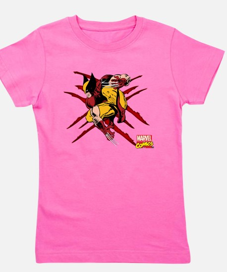 Wolverine Scratches Girl's Tee