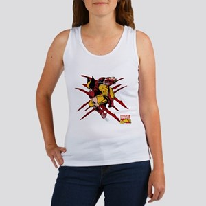 Wolverine Scratches Women's Tank Top