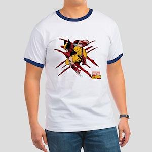 Wolverine Scratches Ringer T