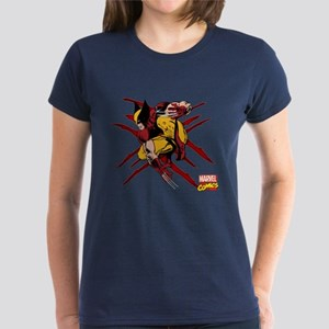 Wolverine Scratches Women's Dark T-Shirt