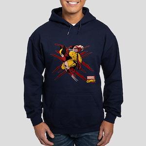 Wolverine Scratches Hoodie (dark)