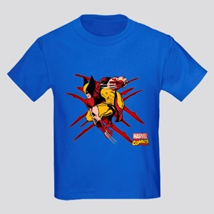 Wolverine Scratches Kids Dark T-Shirt