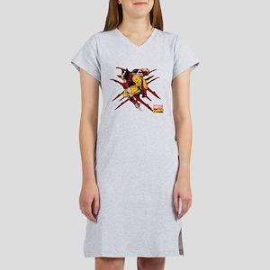 Wolverine Scratches Women's Nightshirt
