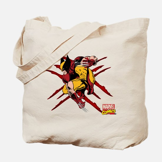 Wolverine Scratches Tote Bag