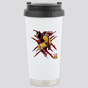Wolverine Scratches Stainless Steel Travel Mug