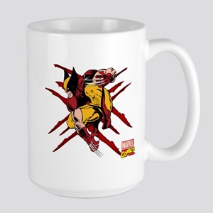 Wolverine Scratches Large Mug