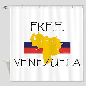 Free Venezuela Shower Curtain
