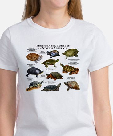 Freshwater Turtle of North America Women's T-Shirt