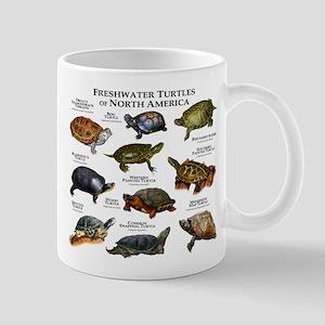 Freshwater Turtle of North America Mug