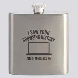 I Saw Your Browsing History Flask