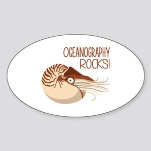Oceanography Rocks! Sticker