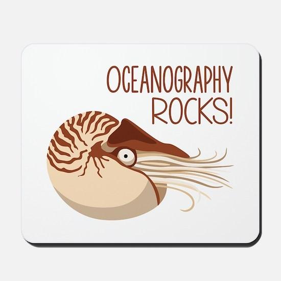 Oceanography Rocks! Mousepad