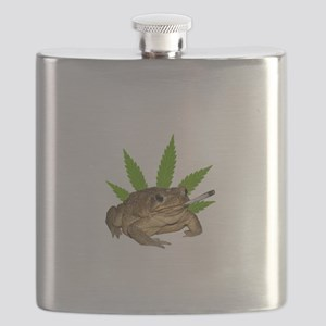 Toad Smoking Flask