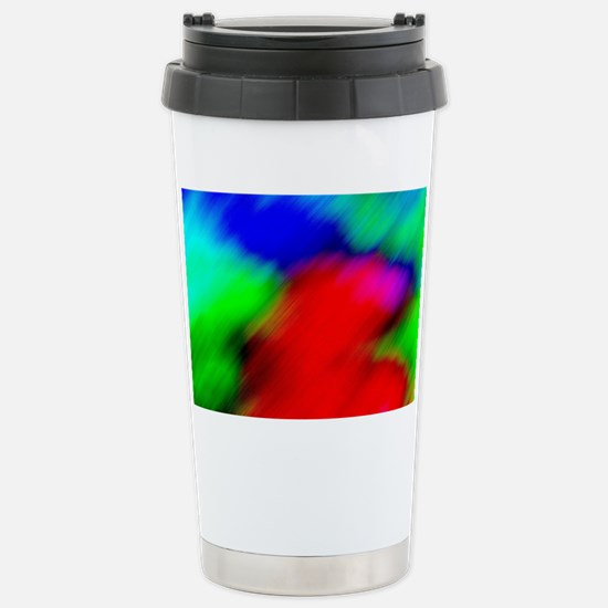 Abstract Art and Design Stainless Steel Travel Mug