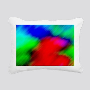 Abstract Art and Design Rectangular Canvas Pillow
