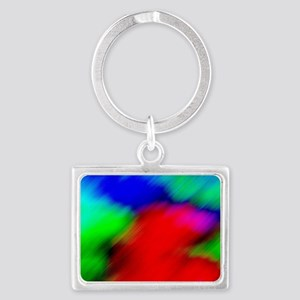 Abstract Art and Design Landscape Keychain