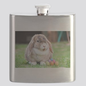 Easter Bunny Rabbit Flask