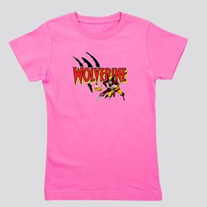 Wolverine Slash Girl's Tee
