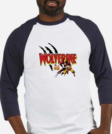Wolverine Slash Baseball Jersey