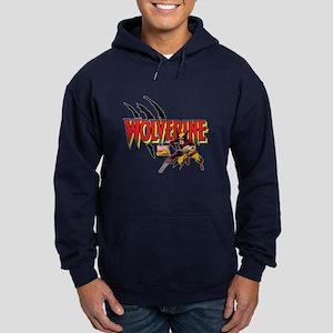 Wolverine Slash Hoodie (dark)