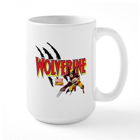 Wolverine Slash Large Mug