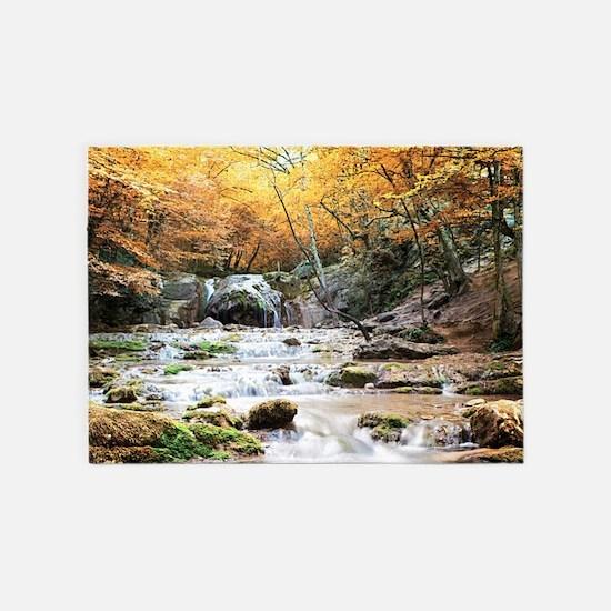 Autumn Stream 5'X7'area 5'X7'area Rug