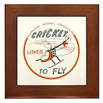 GMP Cricket Framed Tile