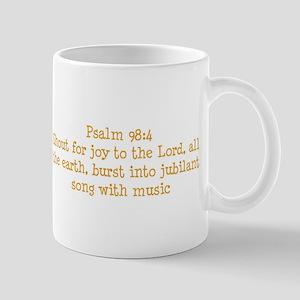 Psalm 98:4Mug Mug