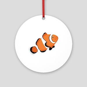 Clown Fish Ornament (Round)