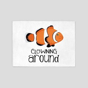 Clowning Around 5'x7'Area Rug