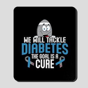 Tackle Diabetes Mousepad