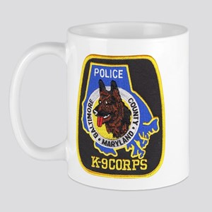 Baltimore Police K-9 Mug