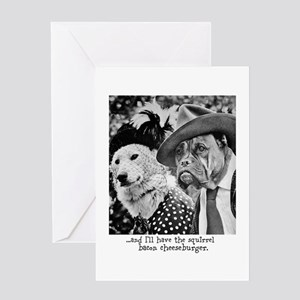Aristocrat Dogs Greeting Cards
