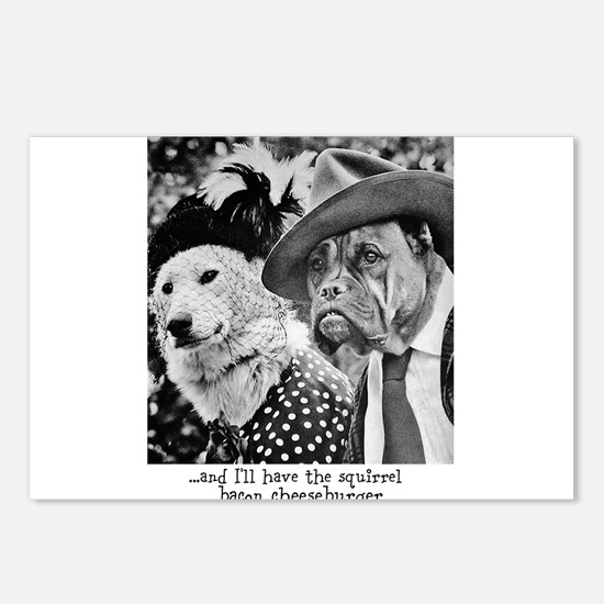 Aristocrat Dogs Postcards (Package of 8)