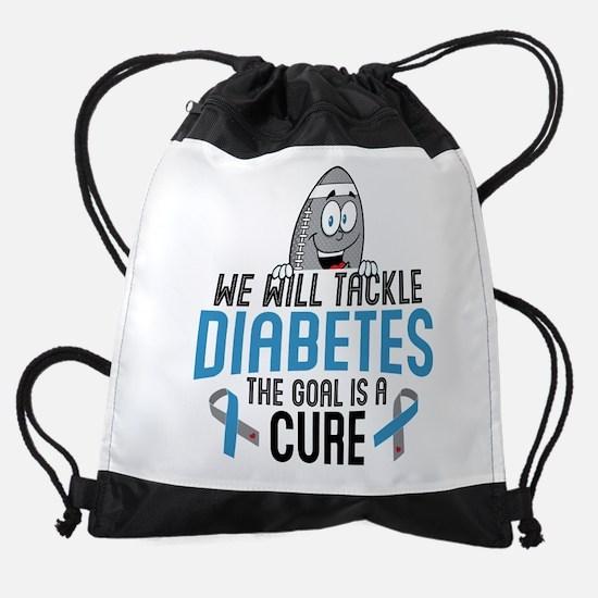 Tackle Diabetes Drawstring Bag