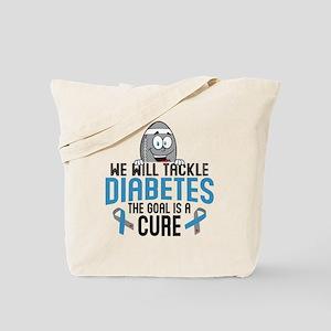 Tackle Diabetes Tote Bag