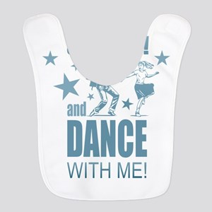 Shut Up and Dance Polyester Baby Bib