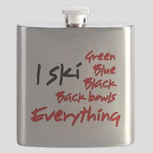 I Ski Flask