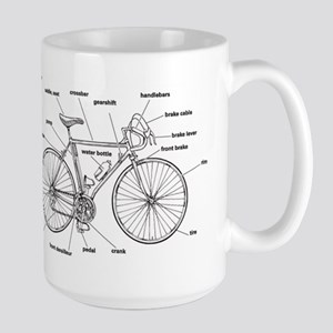 Bicycle Anatomy Mugs