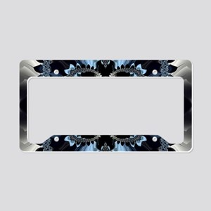 Fragment Pattern License Plate Holder
